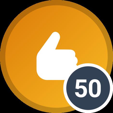 50 réactions